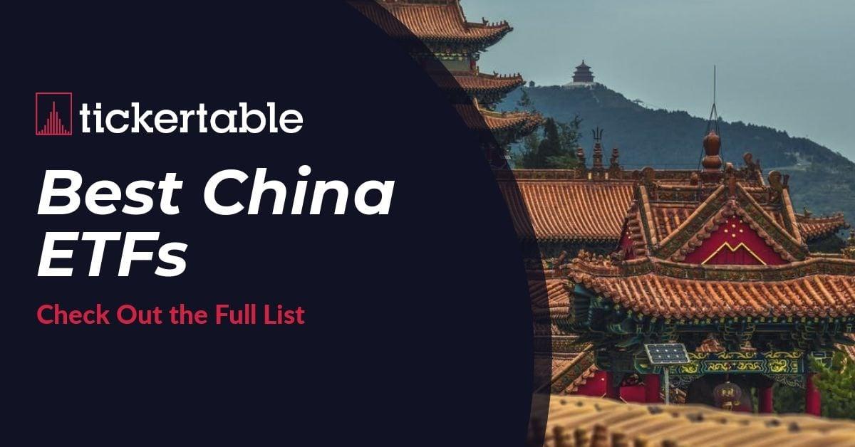 Best China ETFs