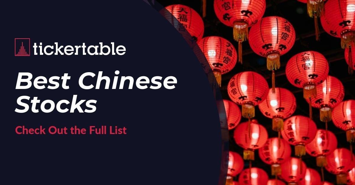 Best Chinese Stocks