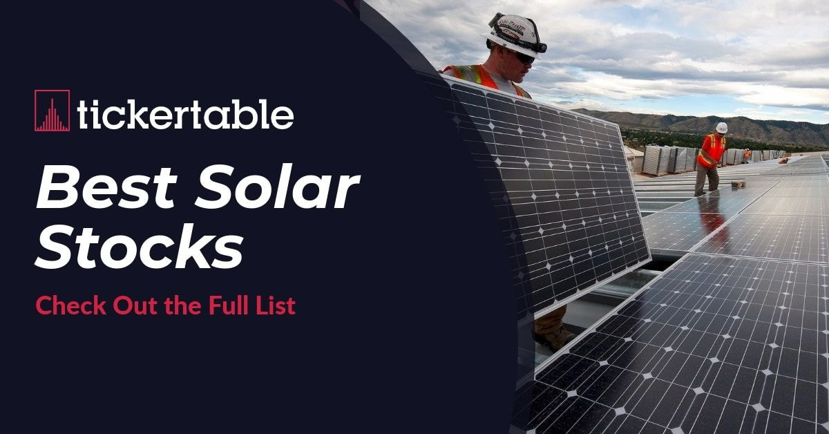 Best Solar Stocks