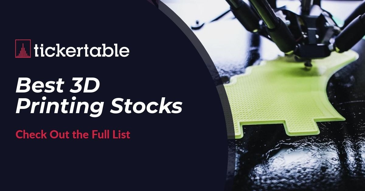 Best 3D Printing Stocks