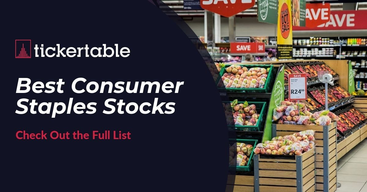 Best Consumer Staples Stocks