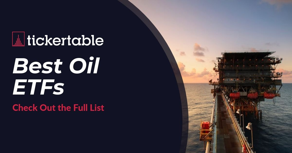 Best Oil ETFs