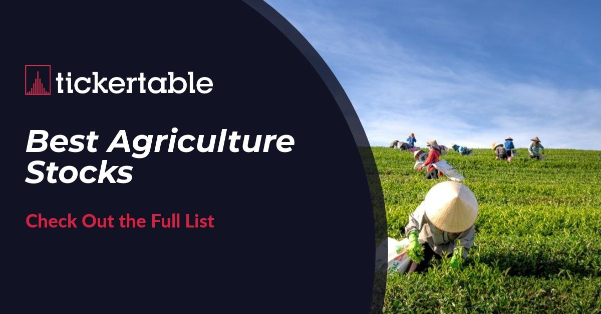 Best Agriculture Stocks