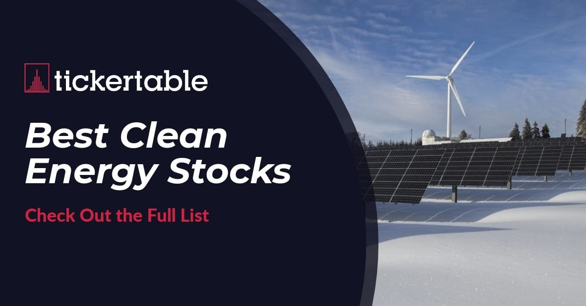 Best Clean Energy Stocks