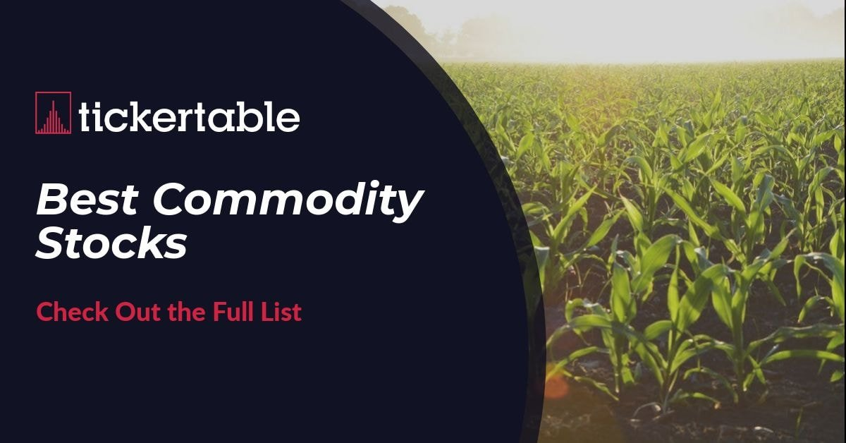 Best Commodity Stocks