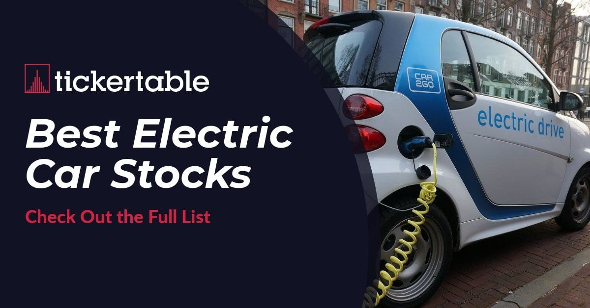 Best Electric Car Stocks