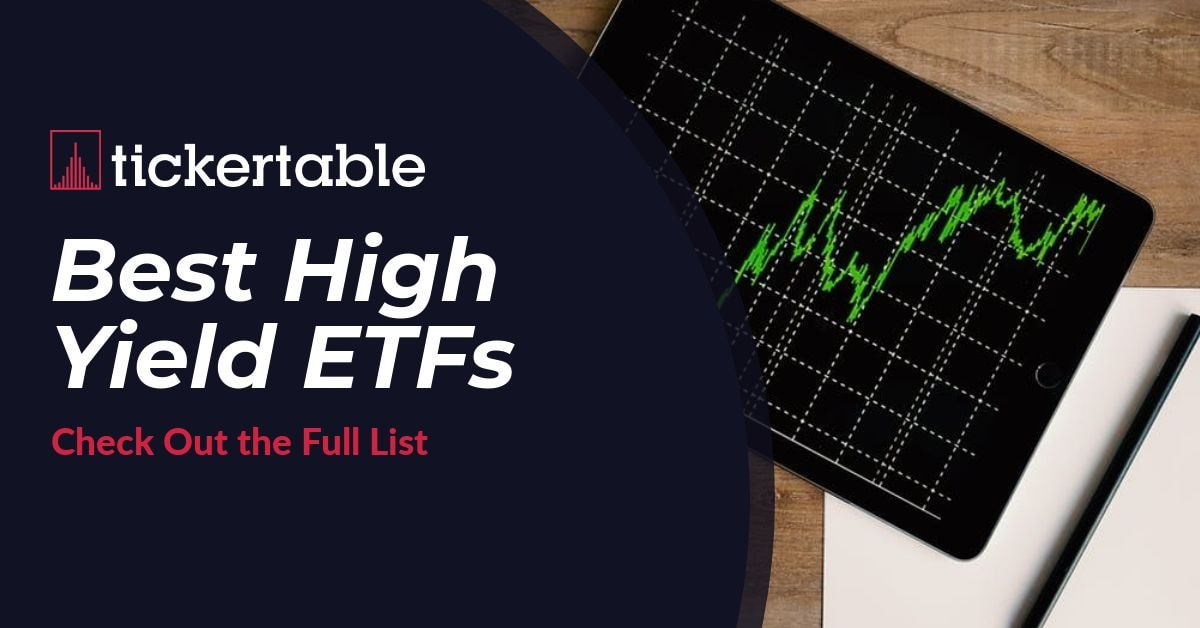 Best High Yield ETFs